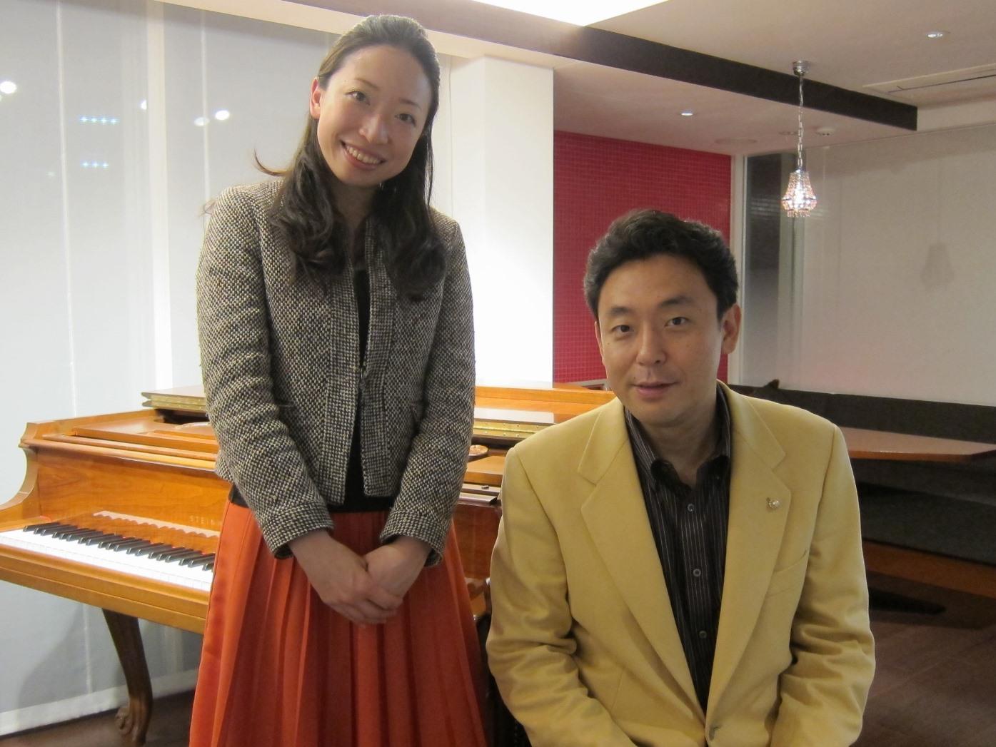 横山幸雄さんと渡邊