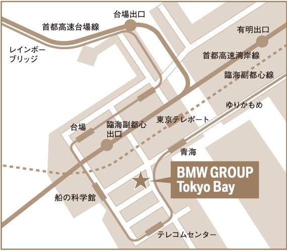 BMW GROUP Tokyo Bay MAP